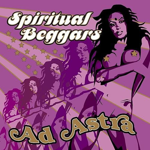 Cover SPIRITUAL BEGGARS, ad astra