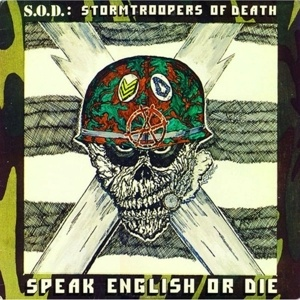 Cover S.O.D., speak english or die