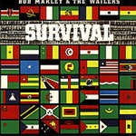 BOB MARLEY & WAILERS, survival cover