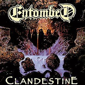 Cover ENTOMBED, clandestine