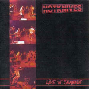 HOTKNIVES, live´n´skankin cover