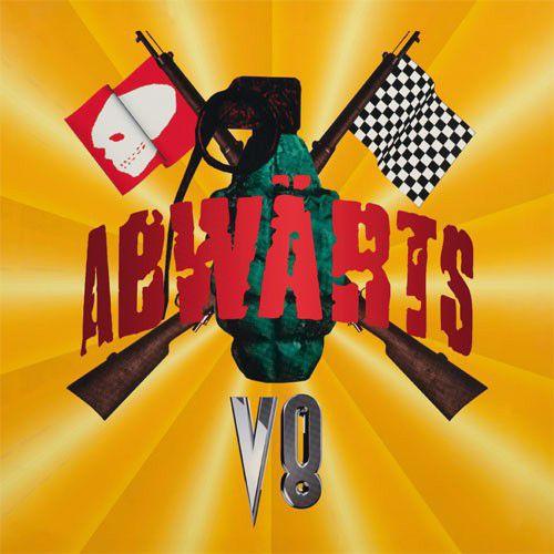 ABWÄRTS, v8 cover