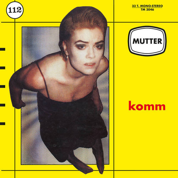 MUTTER, komm cover