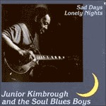 JUNIOR KIMBROUGH, sad days lonely nights cover