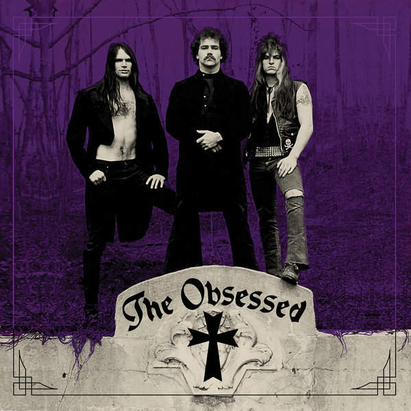 Cover THE OBSESSED, s/t
