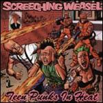 Cover SCREECHING WEASEL, teen punks in heat