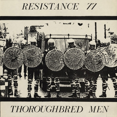 RESISTANCE 77, thoroughbred men cover