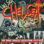 Cover CHELSEA, punk singles collection 77-82