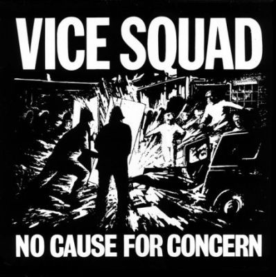 VICE SQUAD, no cause for concern cover