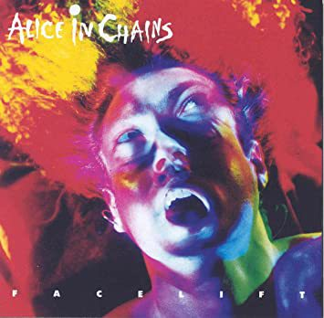 ALICE IN CHAINS, facelift (deluxe 30th anniversary) cover