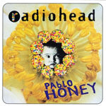 Cover RADIOHEAD, pablo honey
