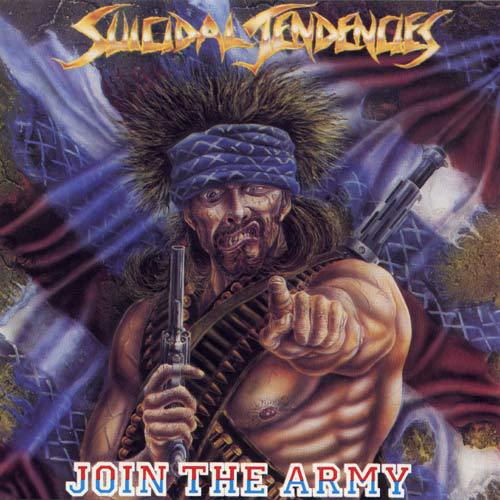 SUICIDAL TENDENCIES, join the army cover