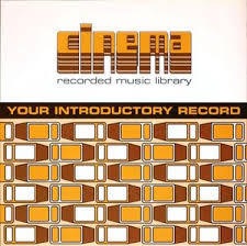 CINEMA, your introductory record cover