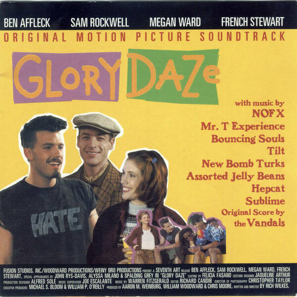 O.S.T., glory daze soundtrack cover