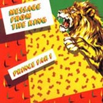 Cover PRINCE FAR I & ARABS, message from the king