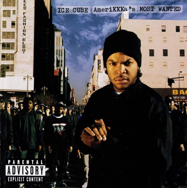 Cover ICE CUBE, amerikkkas most wanted