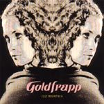 GOLDFRAPP, felt mountain cover