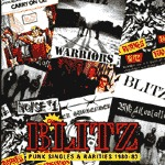 Cover BLITZ, punk singles & rarities 80-83