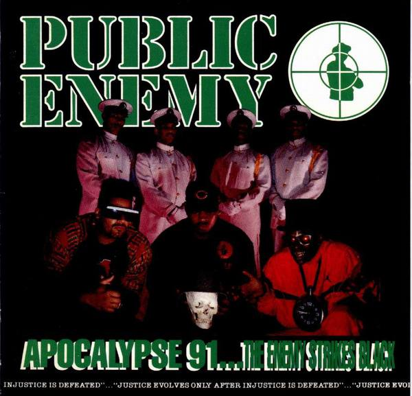 PUBLIC ENEMY, apocalypse 91 cover