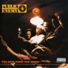 PUBLIC ENEMY, yo! bum rush the show cover