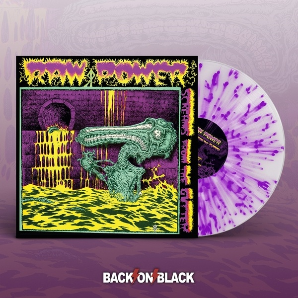 RAW POWER, screams from the gutter cover