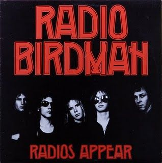 Cover RADIO BIRDMAN, radios appear (black sleeve trafalgar version)