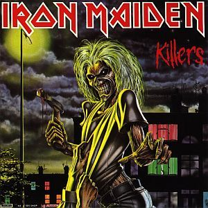 Cover IRON MAIDEN, killers