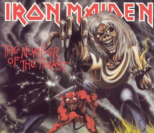 Cover IRON MAIDEN, number of the beast