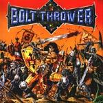 Cover BOLT THROWER, warmaster