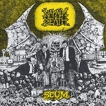 Cover NAPALM DEATH, scum