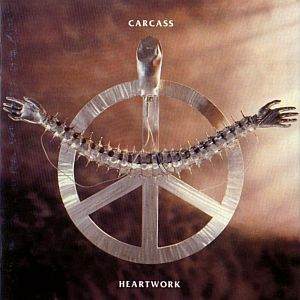 Cover CARCASS, heartwork
