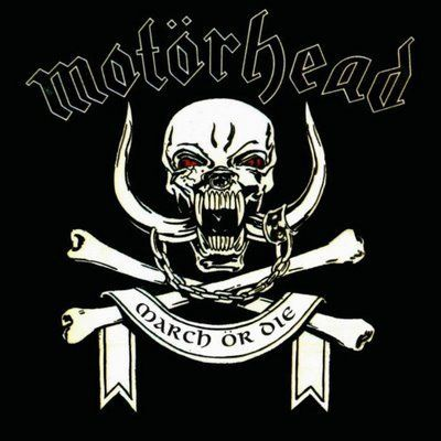 Cover MOTÖRHEAD, march or die