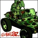 GORILLAZ, s/t cover