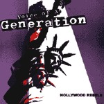 Cover VOICE OF A GENERATION, hollywodd rebels