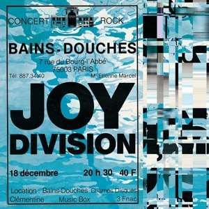 Cover JOY DIVISION, les bain douches