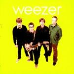 WEEZER, s/t (green album) cover
