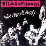 Cover STRASSENJUNGS, wir ham ´ne party