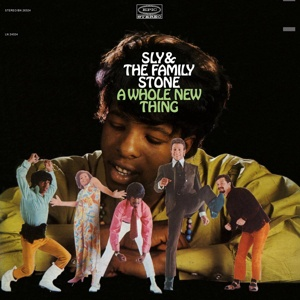 SLY & THE FAMILY STONE, a whole new thing cover