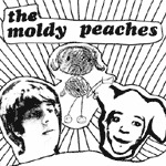 MOLDY PEACHES, s/t cover