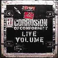 CORROSION OF CONFORMITY, live volume cover