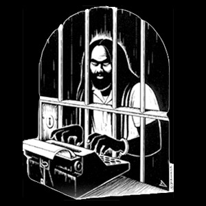ERIC DROOKER, mumia abu jamal (boy), black cover
