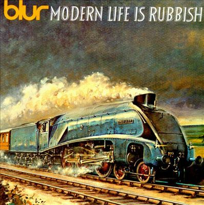 Cover BLUR, modern life is rubbish
