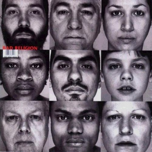 BAD RELIGION, gray race cover