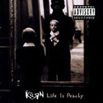 Cover KORN, life is peachy