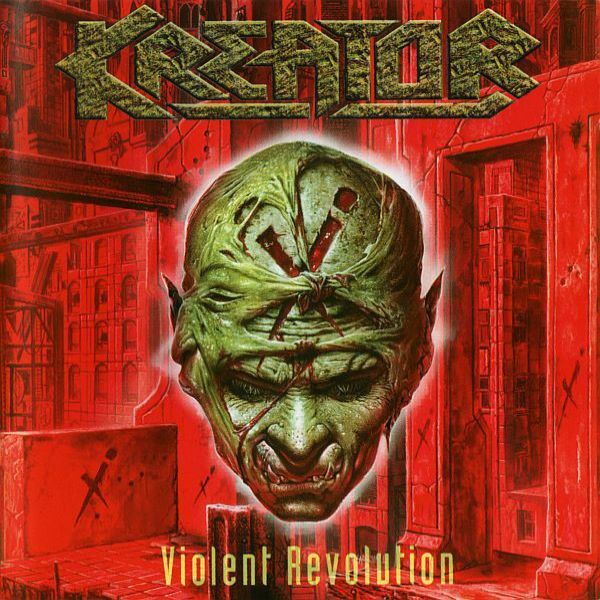 KREATOR, violent revolution cover