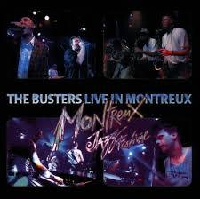 BUSTERS, live in montreux cover