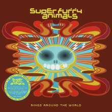 SUPER FURRY ANIMALS, rings around the world cover