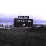 Cover CHAMBERLAIN, exit 263