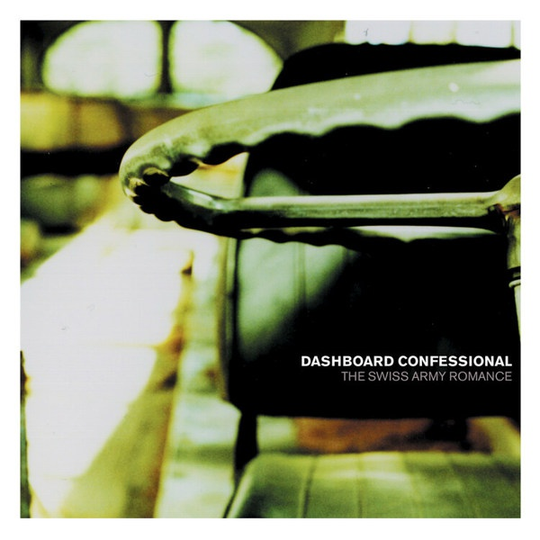 DASHBOARD CONFESSIONAL, swiss army romance cover