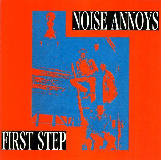 Cover NOISE ANNOYS, first step